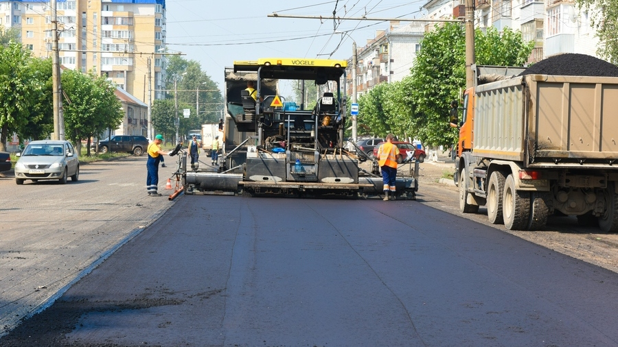 Стал известен график ремонта дорог в Кирове на 2018 год