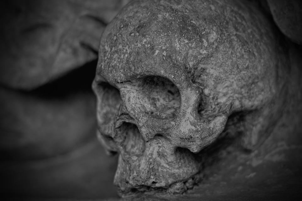 Жители Рудничного нашли на улице человеческий череп