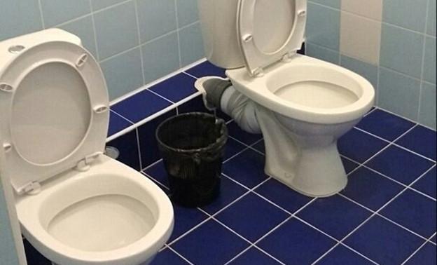 Кировчане возмущены туалетами без кабинок в новом манеже «Вересники»