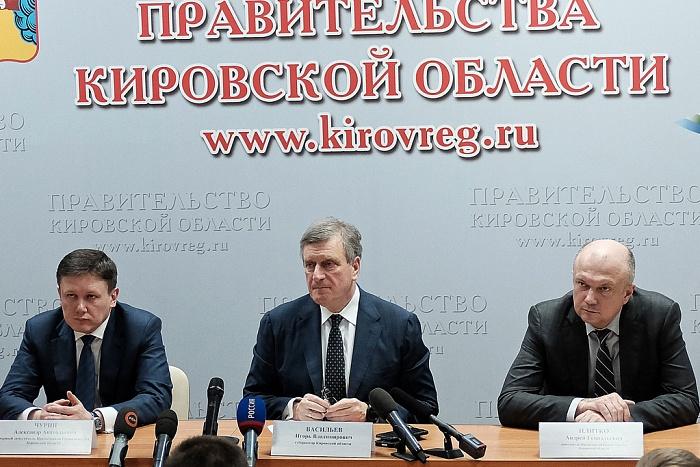 Васильев назвал кандидатов на новые должности в кировском правительстве