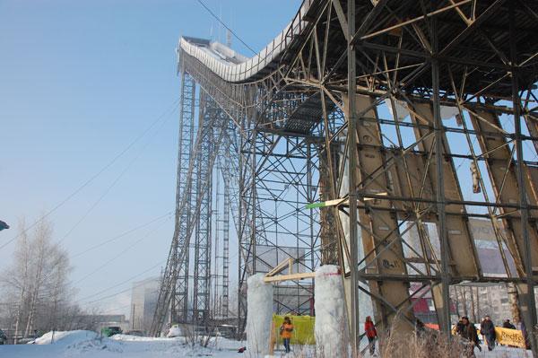 Реконструкцией трамплина в Кирове займется рабочая группа