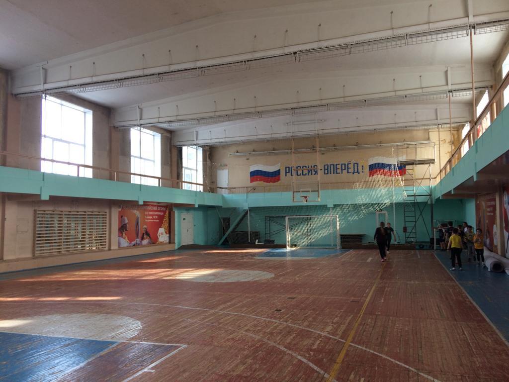 В Кирове начали ремонтировать два спорткомплекса