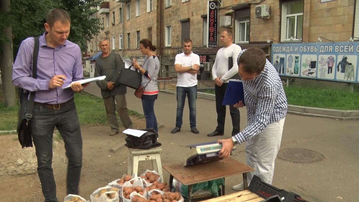 Илья Шульгин предложил изымать товар у уличных торговцев