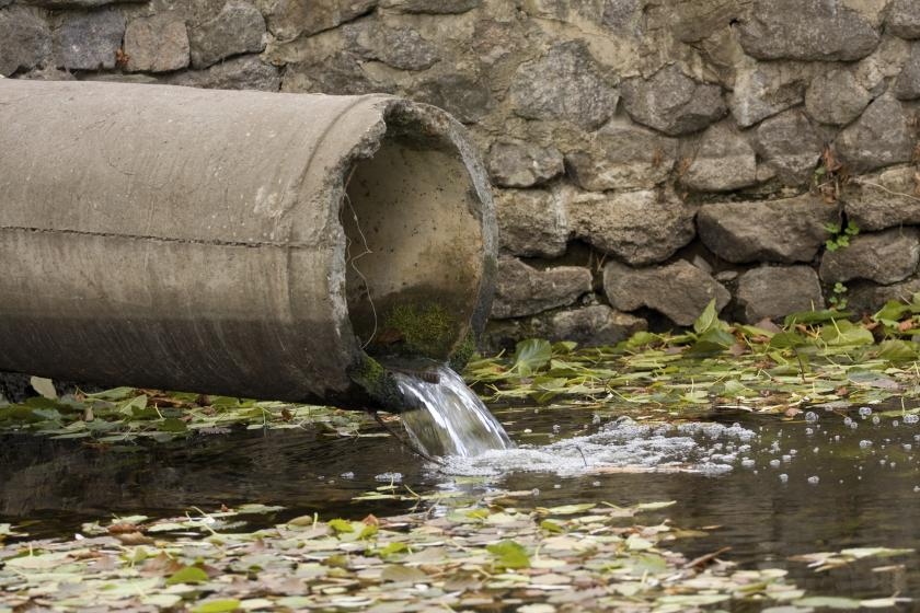 В Кировской области оштрафовали предприятие за сброс сточных вод в реку