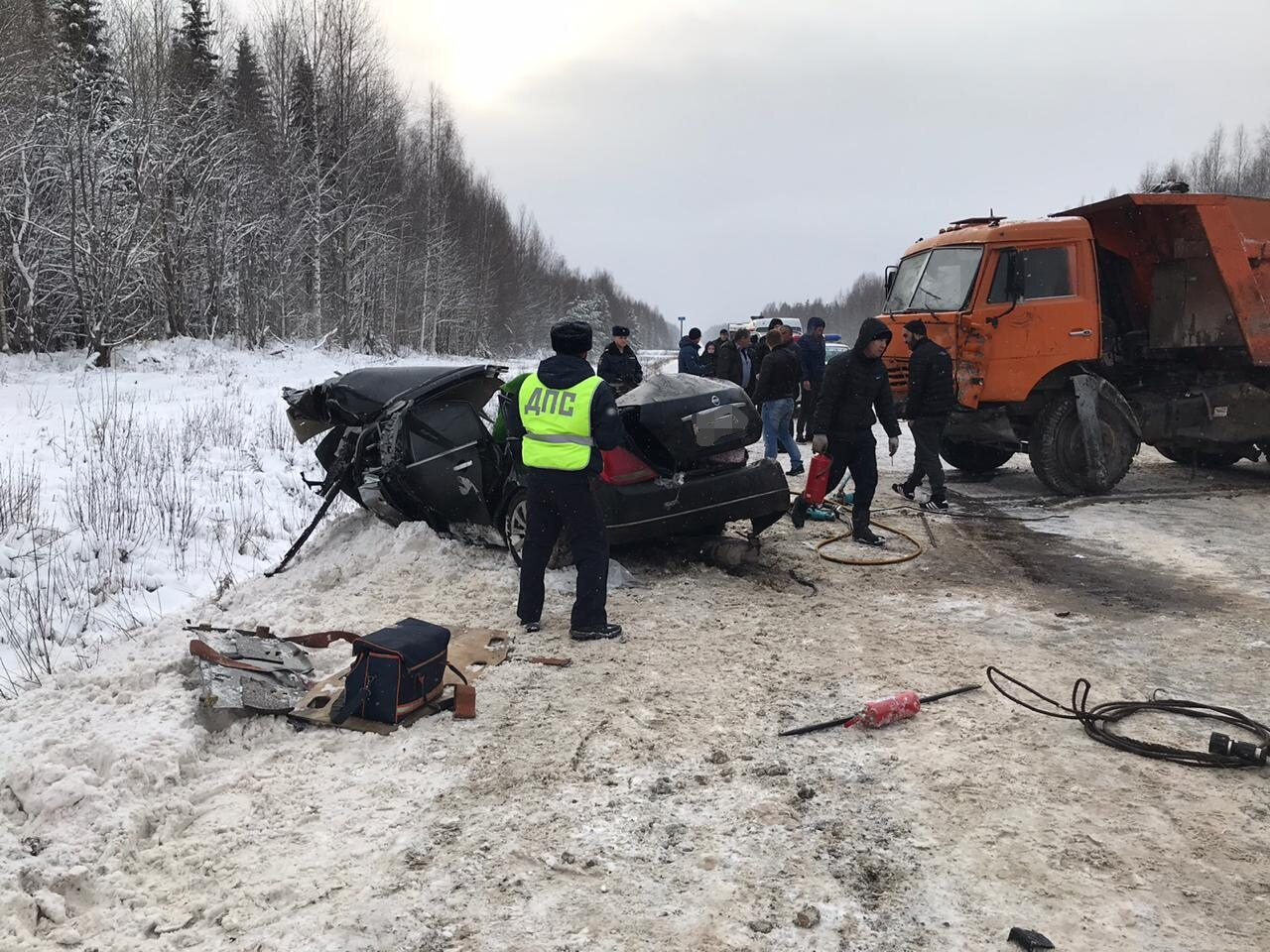 В Мурашинском районе в ДТП погибли два человека