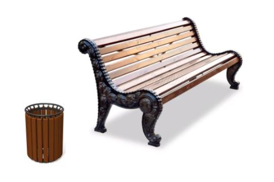 В Кирове закупят более 300 новых скамеек и урн