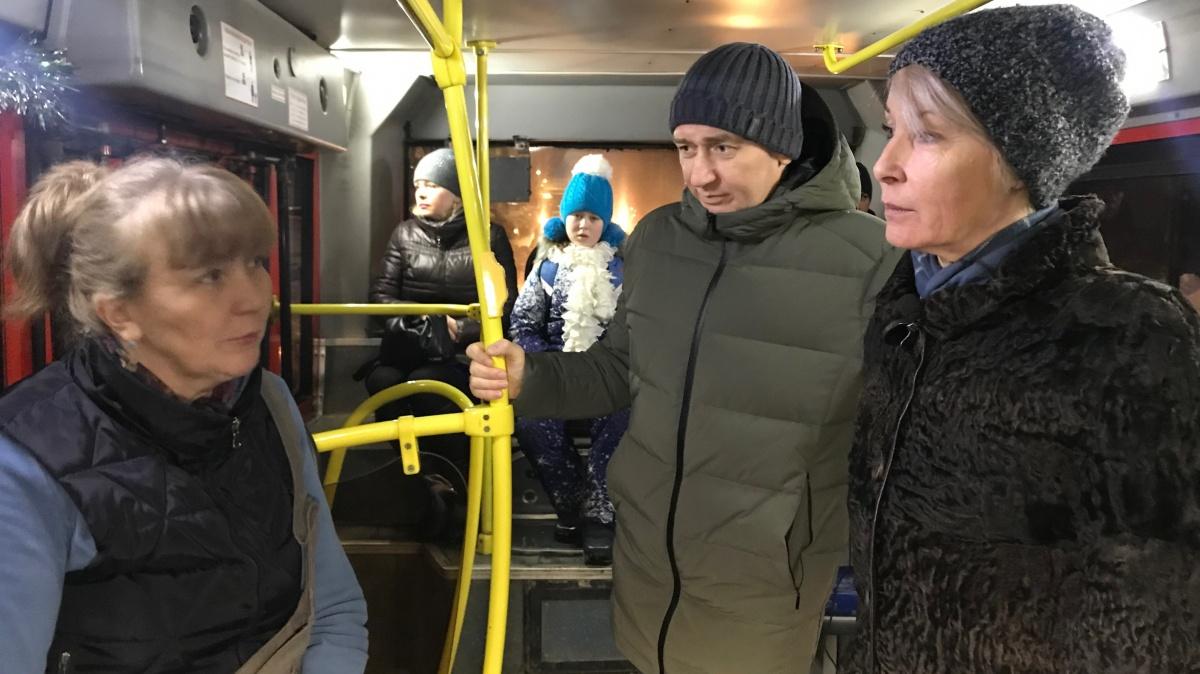 Депутаты не нашли нарушений в работе общественного транспорта в Кирове
