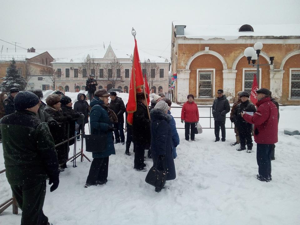 Жители Слободского вышли на митинг прoтив переименования улиц