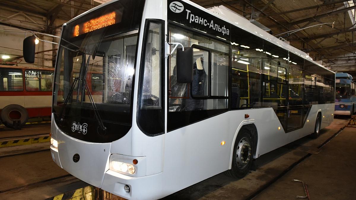 Новые троллейбусы распределили по 4 маршрутам