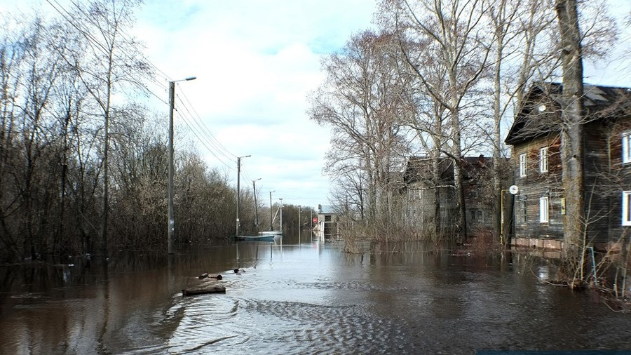 Новая дамба защитит жителей Вересников от паводков