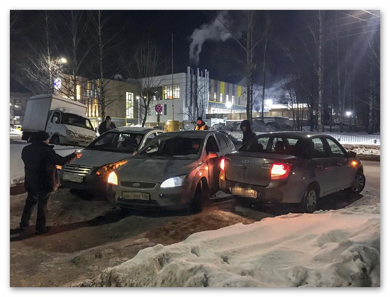 Тройное ДТП в Кирове