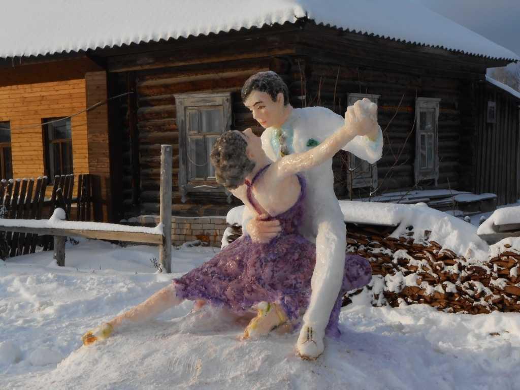 Тужинский сноу-арт покорил социальные сети