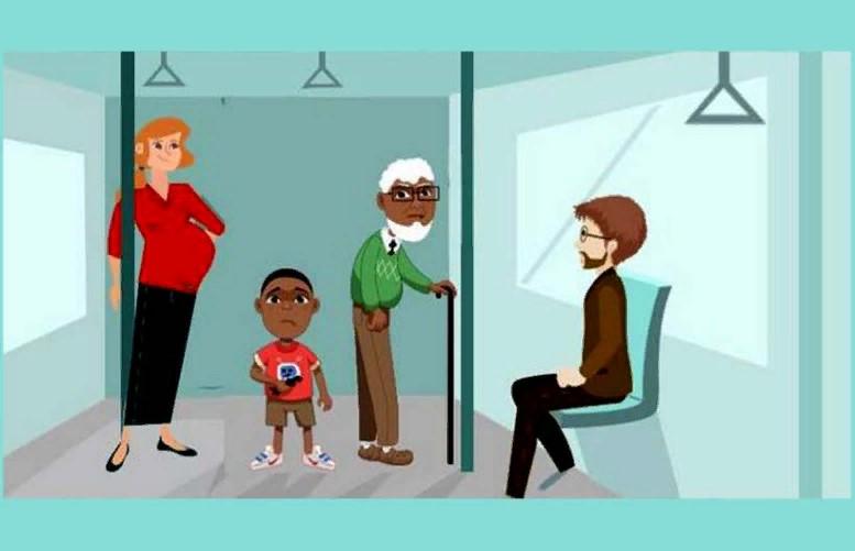 Тест: Выберите на картинке, кому бы уступили место, и узнайте, какой вы человек