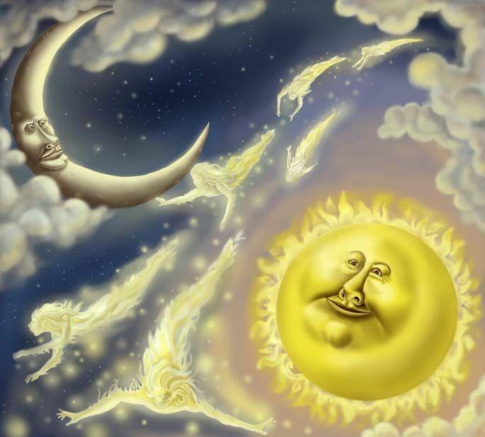 Как Солнце и Луна влияют на жизнь человечества