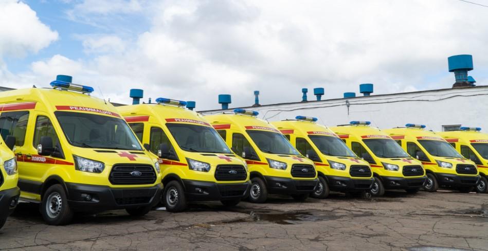 18 новых реанимобилей поступили в Кировскую область